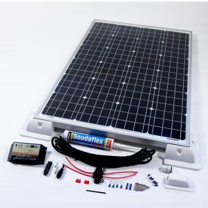 100w 12v Solar Vehicle Kit Duo