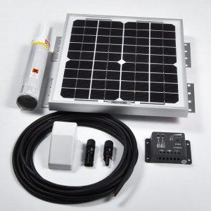 10w 12v Solar Battery Charger Vehicle Kit