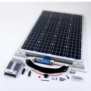120w 12v MPPT Solar Battery Charger Vehicle Kit