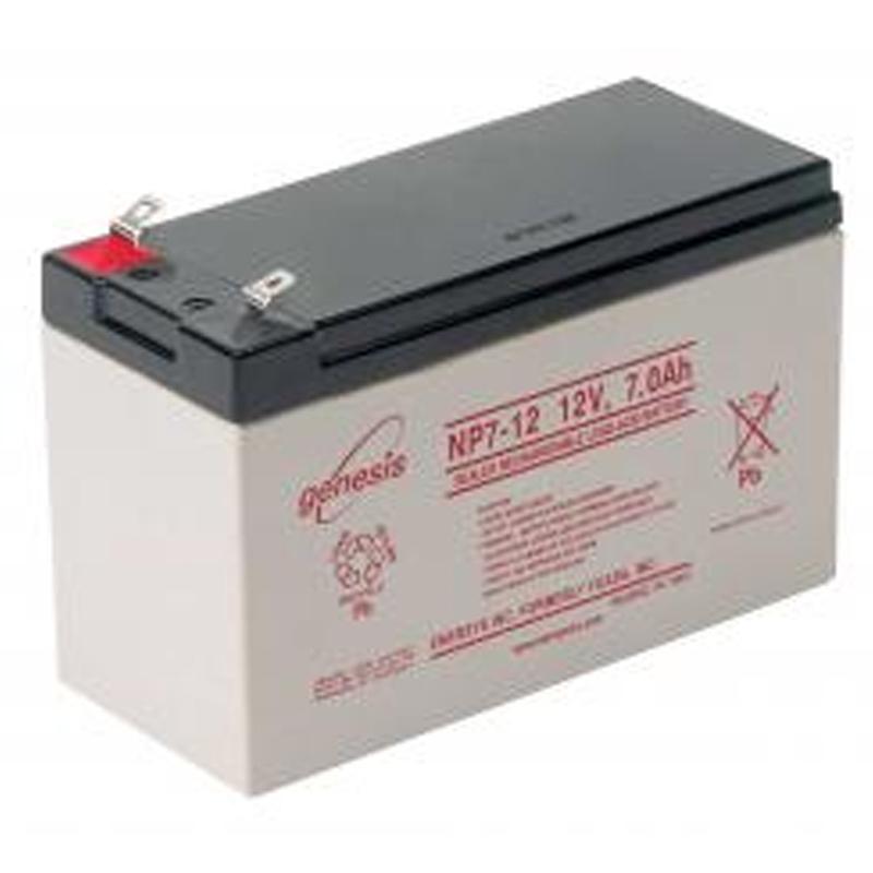 genisis battery 12v 18ah vrla battery for small monitoring stations. Black Bedroom Furniture Sets. Home Design Ideas
