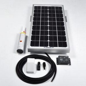 20w 12v Solar Battery Charger Vehicle Kit