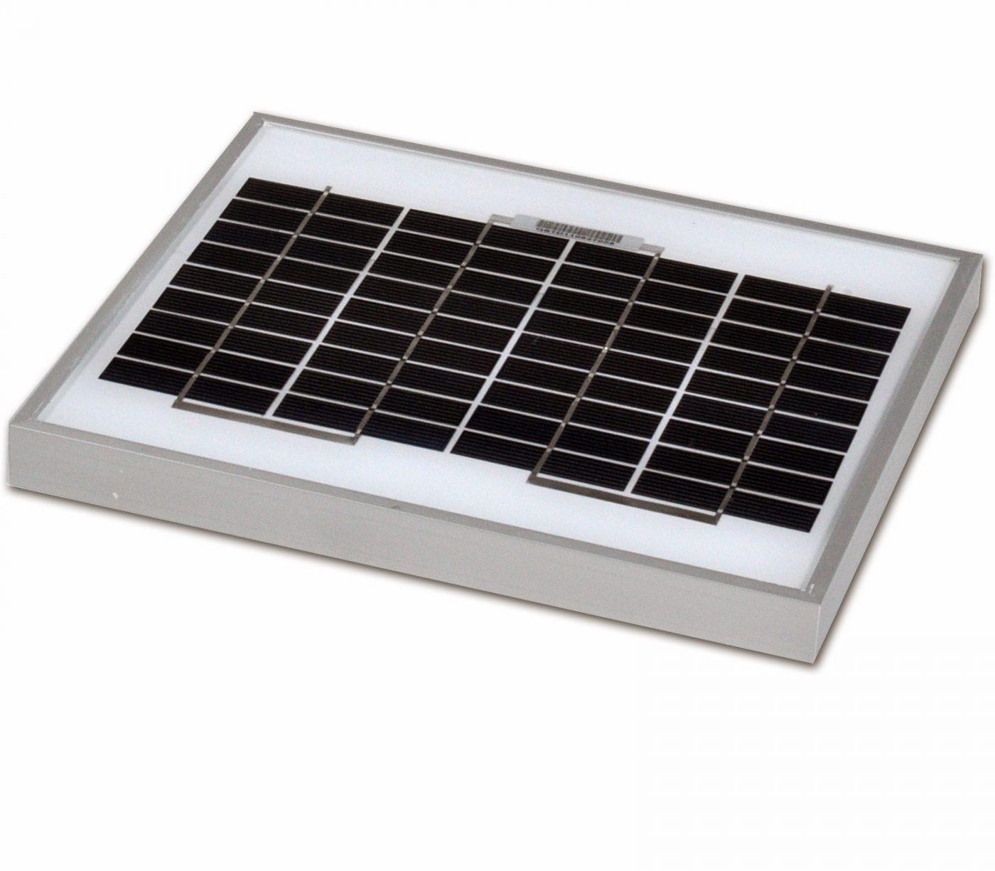12v 5w solar panel monocrystalline 265x200 sunstore solar. Black Bedroom Furniture Sets. Home Design Ideas