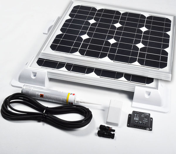 90w24v Solar Vehicle Kit Deluxe