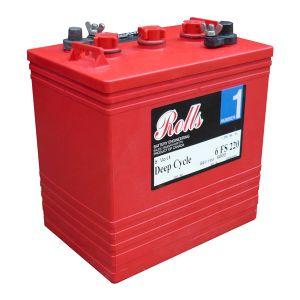 Rolls 6V 220Ah Deep Cycle Solar Battery 6-FS-220
