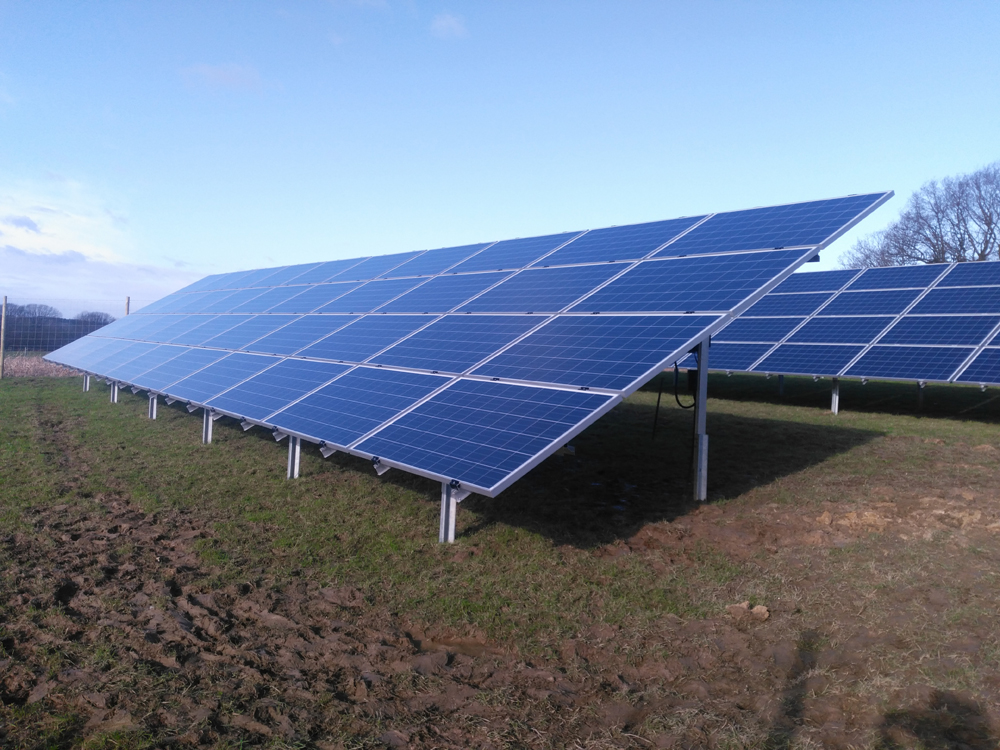 Solar Farm Power Sunstore Solar