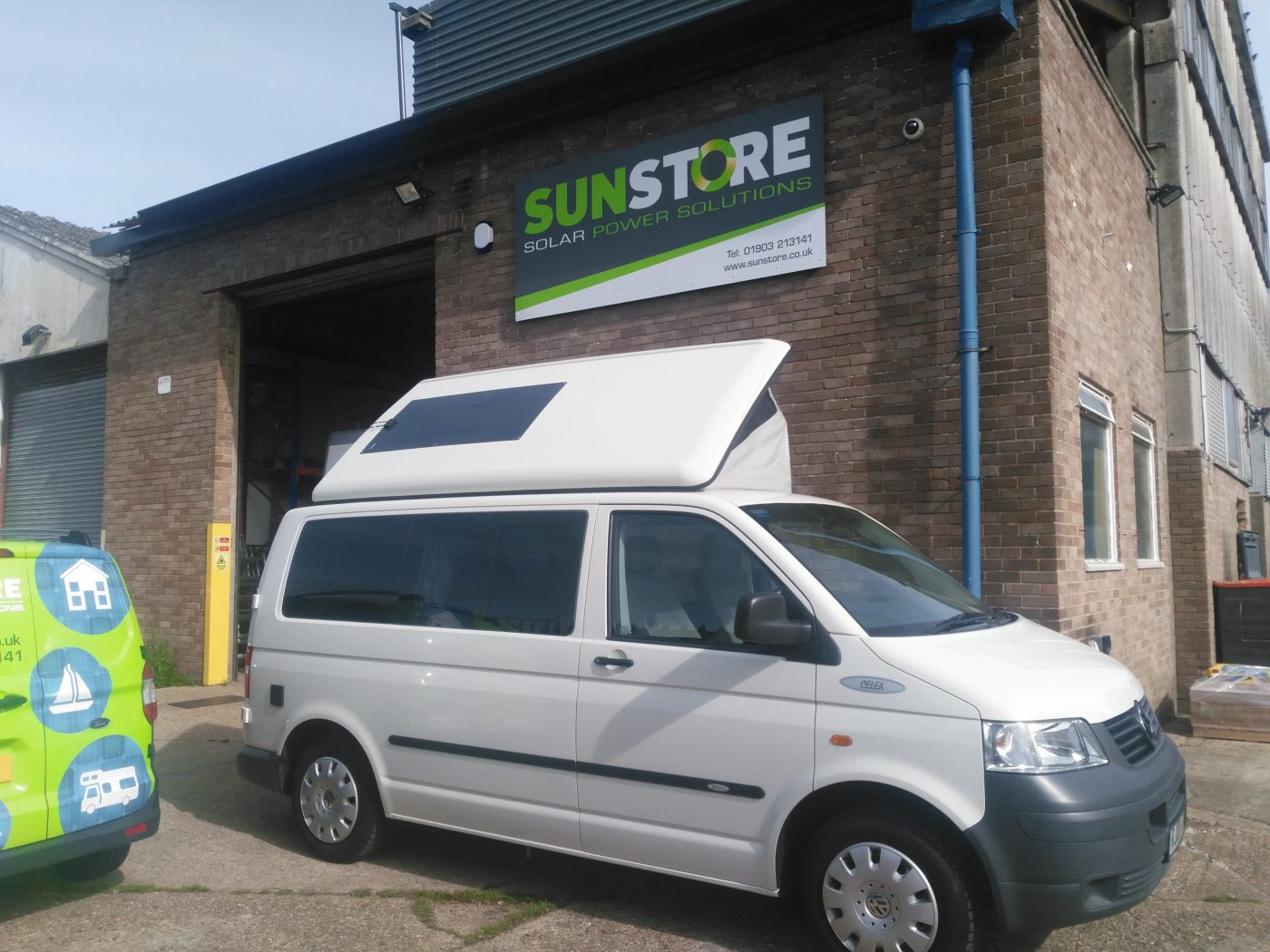 Solar Panels for Van Conversions, Pop Top and VW vehicles