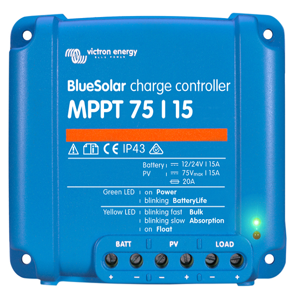 Victron BlueSolar Charger MPPT 75-15 top