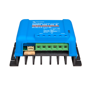 Victropn SmartSolar charge controller MPPT 100-20 angle