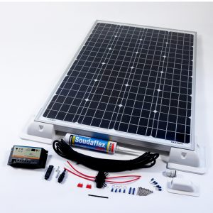 100w 12v Solar Vehicle Kit Duo