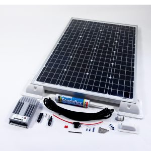 100w Solar Panel MPPT Kit