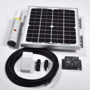 10w 12v Solar Battery Charger Vehicle Kit