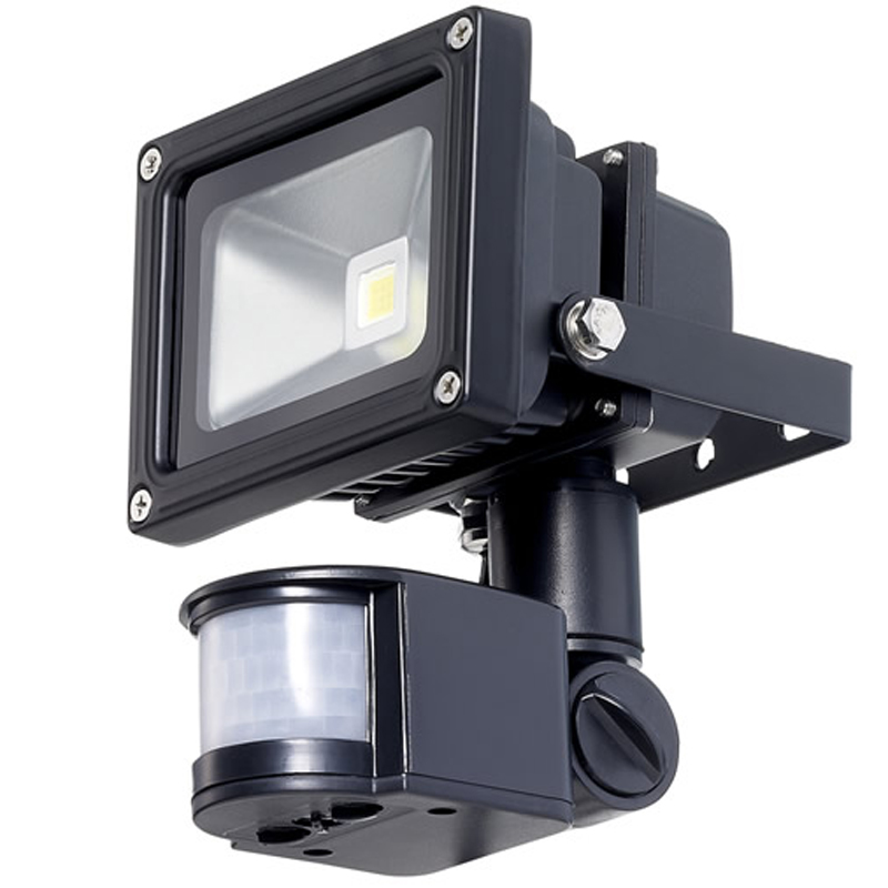 10w 12v LED Flood Light With PIR Motion Detector  sc 1 st  Sunstore Solar & 10w 12v LED Flood Light With PIR Motion Detector. 2 Year Warranty