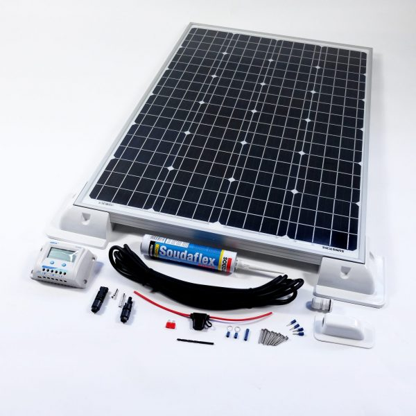 120w Solar Panel Deluxe Kit