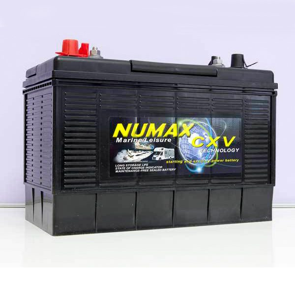 12v 110ah Numax Leisure Battery: