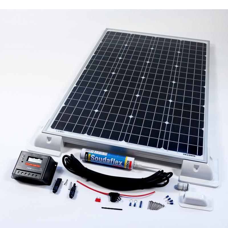 140w 12v solar battery charger vehicle kit deluxe rh sunstore co uk solar panel 12v battery charger canadian tire solar panel 12v battery charger canadian tire