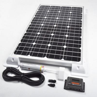 200w 24v Solar Panel Vehicle Kit Deluxe