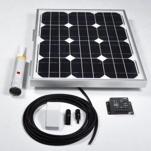30w 12v Solar Battery Charger Vehicle Kit
