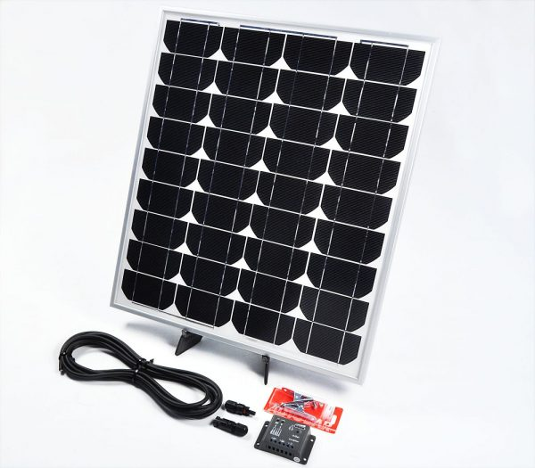 60w 12v Solar Battery Charger for Caravans and Motorhomes