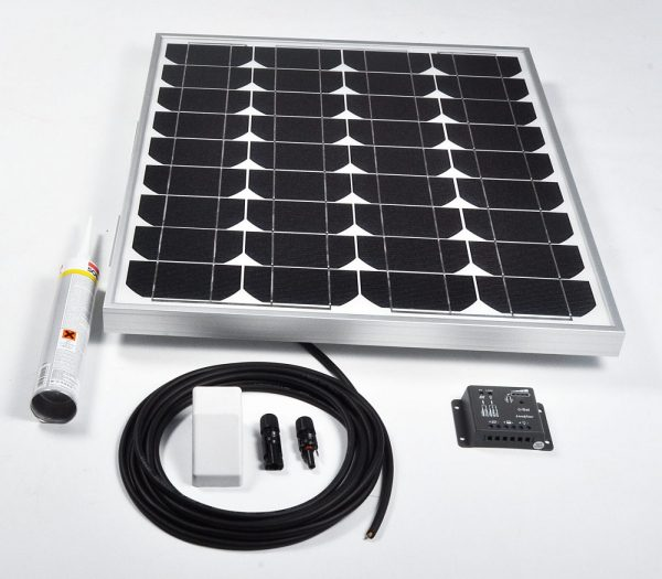 45w 12v Solar Battery Charger Vehicle Kit