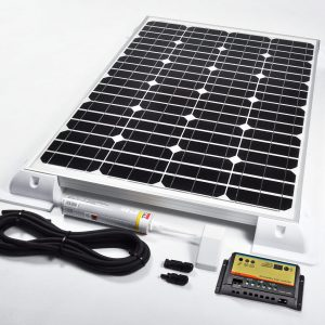 Motorhome Solar Kits to Charge Two Batteries