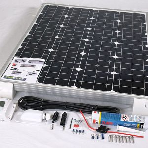 140w 12v MPPT Solar Battery Charger Vehicle Kit