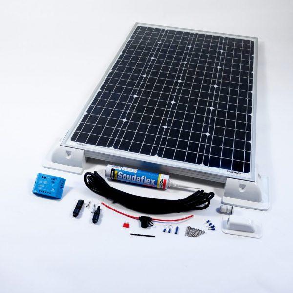 80w 12v Solar Battery Charger Vehicle Kit