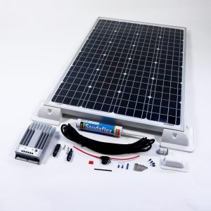 80w Solar Panel MPPT Kit