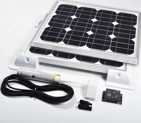 90w24v Solar Vehicle Kit Deluxe