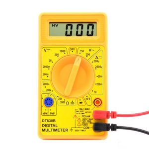 AC DC Digital Multimeter
