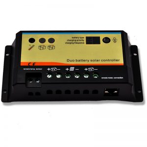 EP Solar Duo-Battery Solar Charge Controller 12/24v 20A