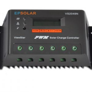 EP Solar View Star 20A 12v/24v/48v Solar Charge Controller with LCD Display