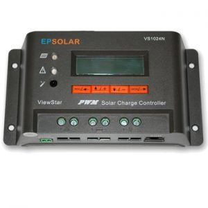 EP Solar View Star 10A 12/24v Solar Charge Controller with LCD Display