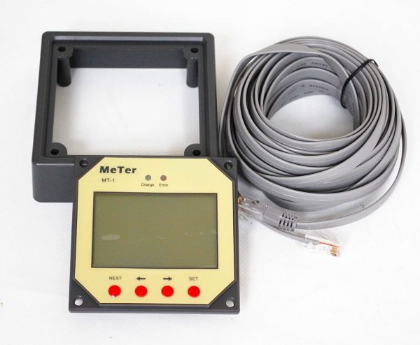 MT-1 Remote Meter for Dual Battery EPIPDB-COM Solar Charge Controller