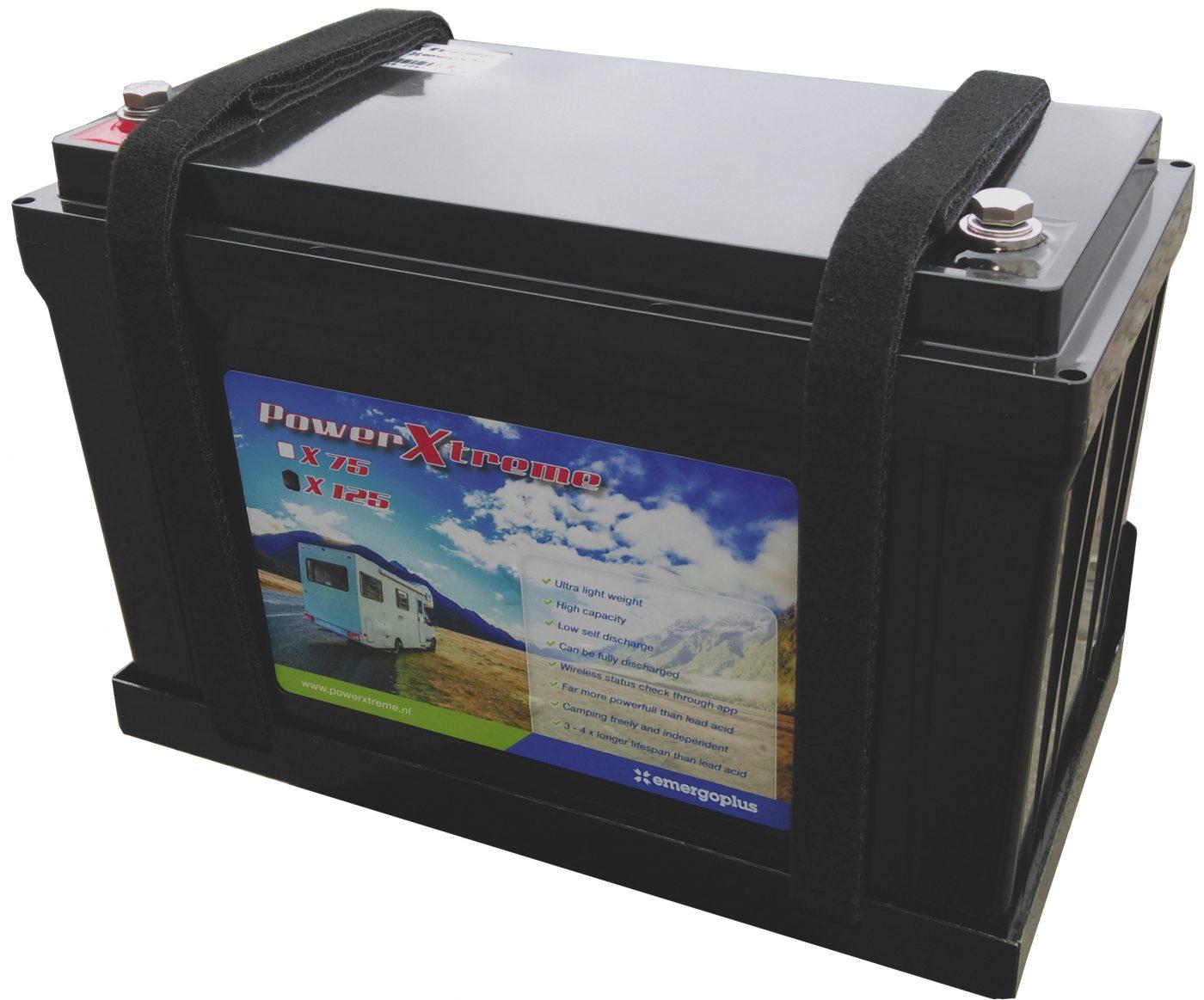 Powerxtreme Lithium Leisure Battery 75ah Sunstore Solar