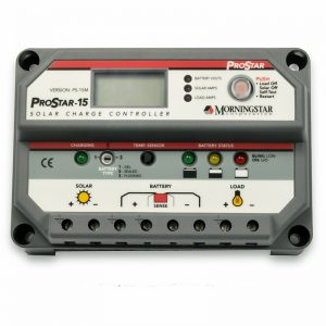 Morningstar Prostar 15M Solar Charge Controller with LCD Display