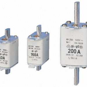 160A 500Vac Type gL-gG size 00 NH fuse