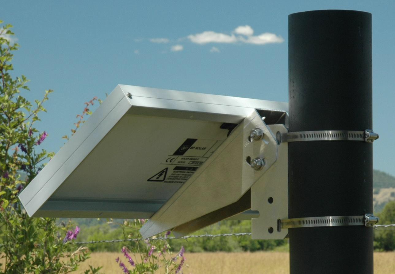 Single Arm Pole Mount Sunstore Solar