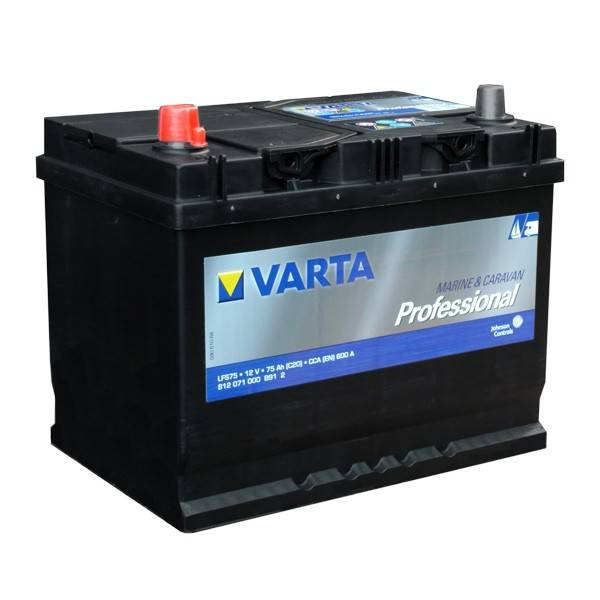 12v 75ah Varta Leisure Battery Sunstore Solar