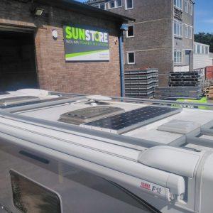 Motorhome Solar Panel Kits