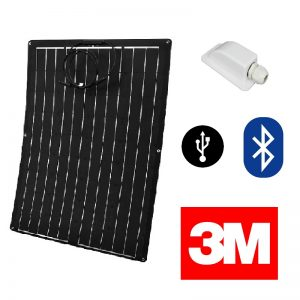 Composite Semi Flexible Solar Panel Kit - Pop Top - VW T5 T4