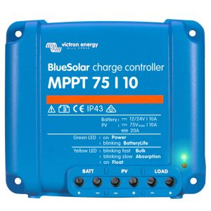 Victron BlueSolar Charger MPPT 75-10 top