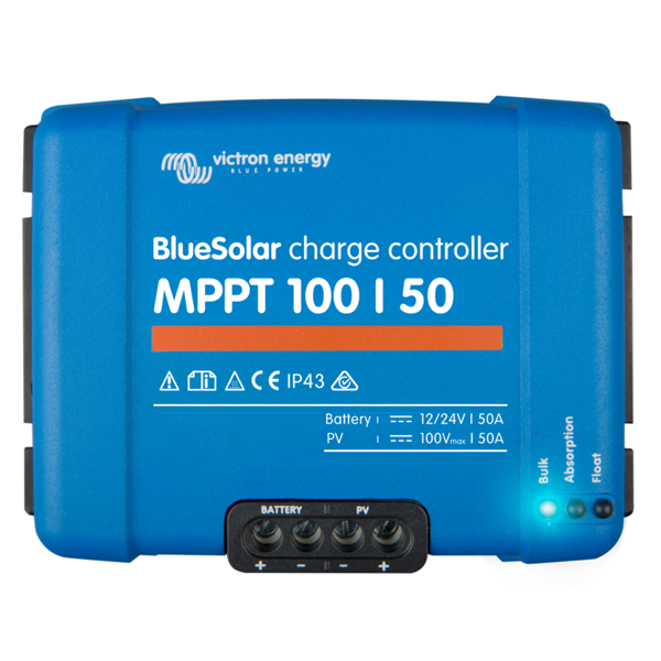 Victron BlueSolar charge controller 100-50 top