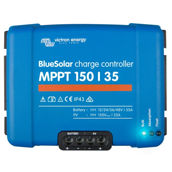 Victron BlueSolar charge controller 150-35 front
