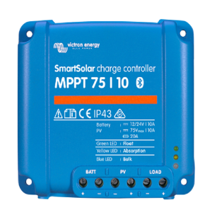 Victron Smartsolar charge controller MPPT 75-10 top