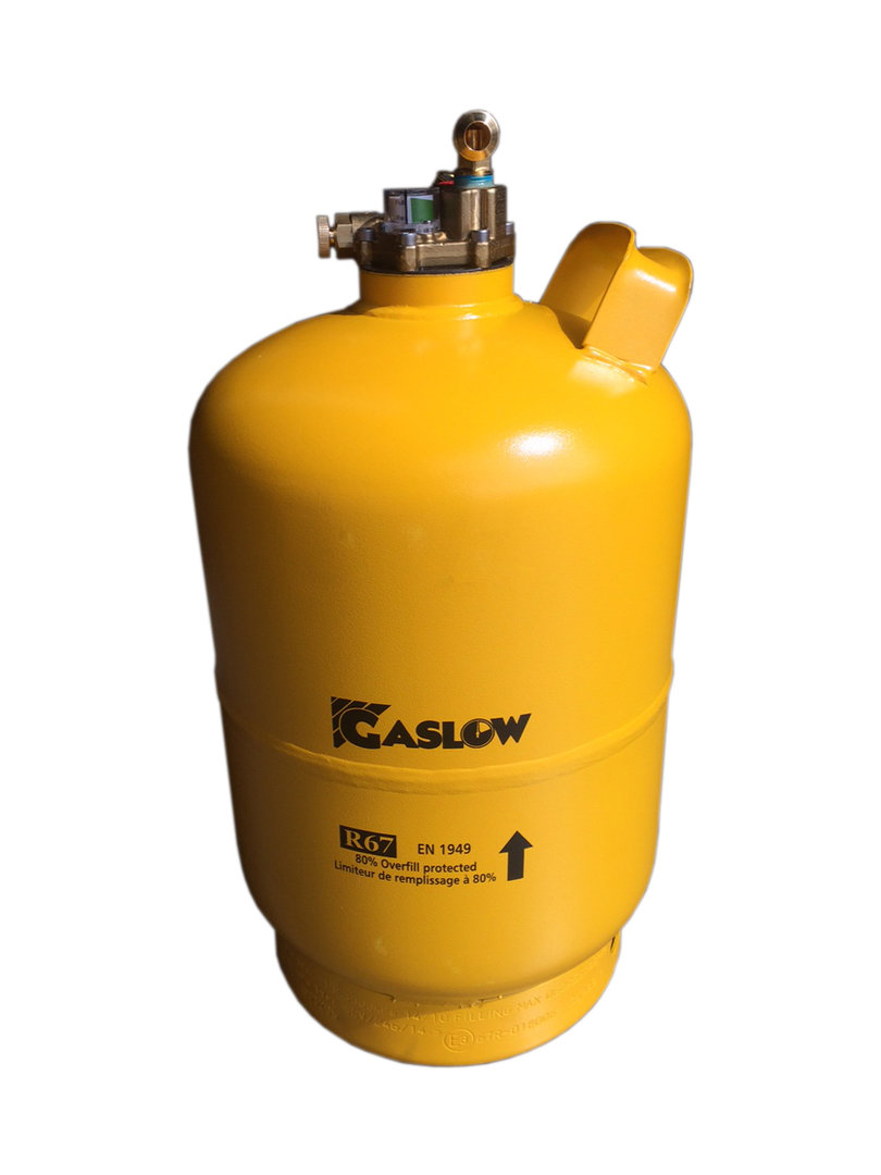 Gaslow Single Cylinder Lpg Refillable Gas Tank Kit