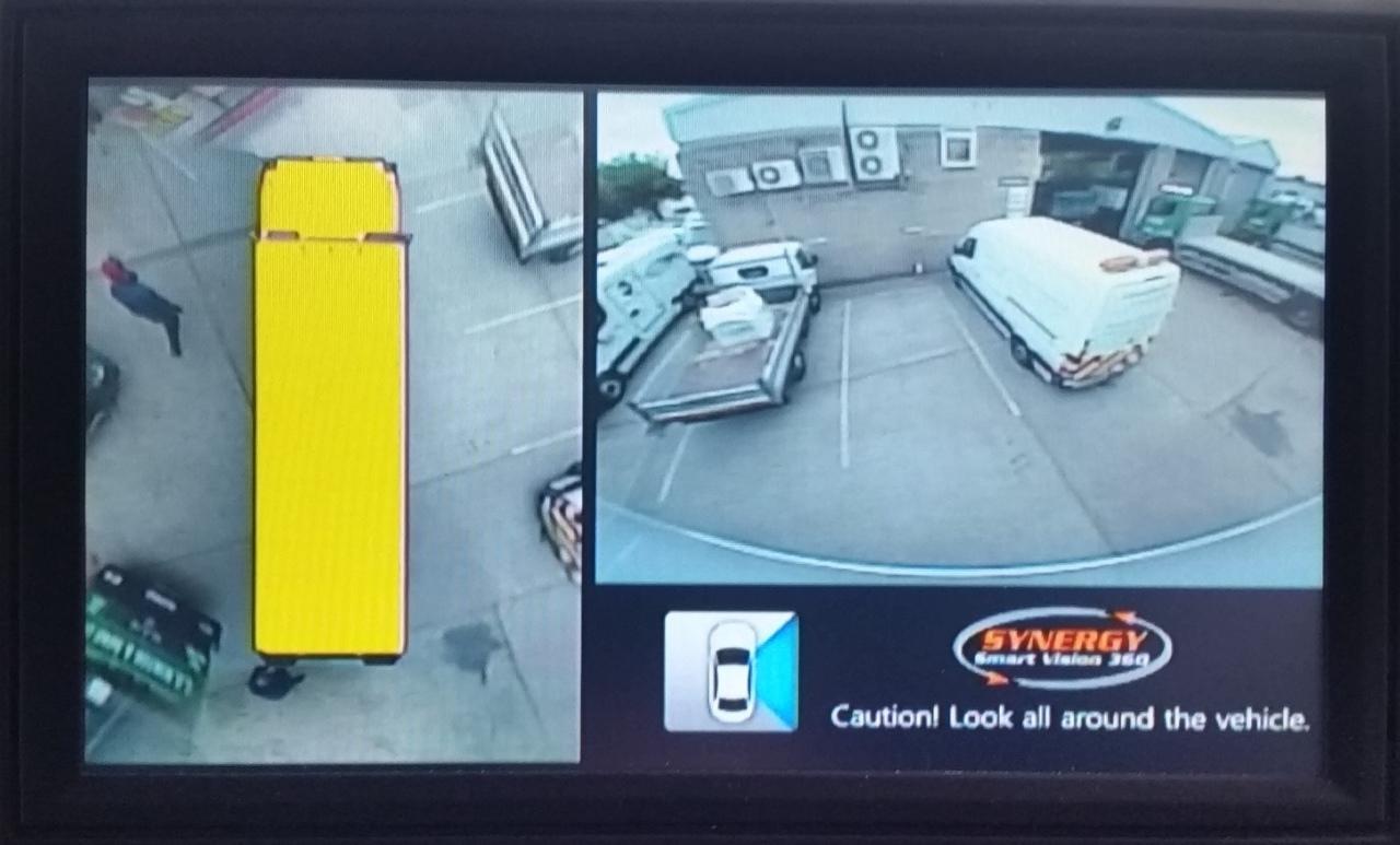360 Degree Motorhome Camera Synergy Smart Vision